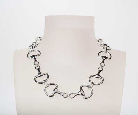 Belmont Bit Necklace Silver