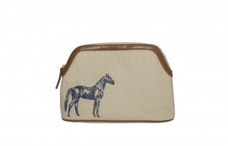 Small Travel Bag Standing Horse