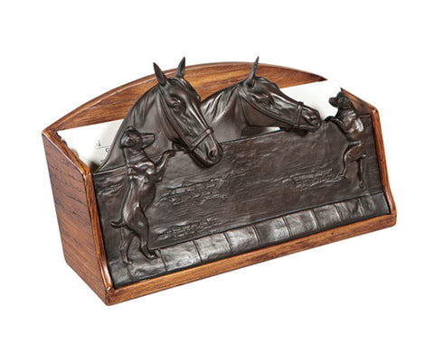 Horses and Dogs Stable Letter Holder