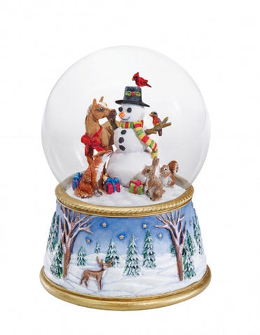 Breyer A Gathering of Friends Musical Snow Globe