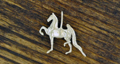 3 Gaited Saddlebred Pendant