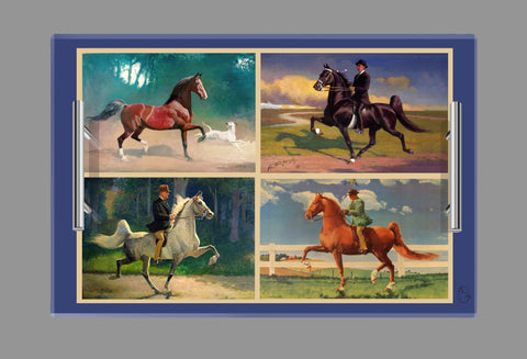Saddlebred Tray Large