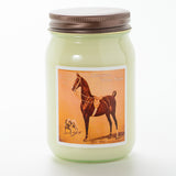 American Saddlebred Museum Candle All Tacked Up Horse Dog