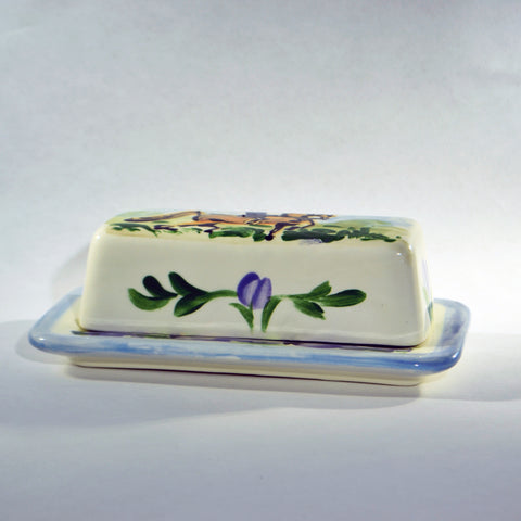 Frederique Saddlebred Butter Dish