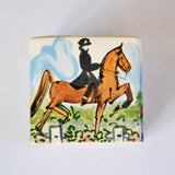 Frederique Saddlebred Tissue Box Cover