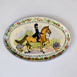 Frederique Saddlebred Oval Platter