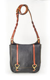 Hoof Pick Cross Body Purse Medium Black