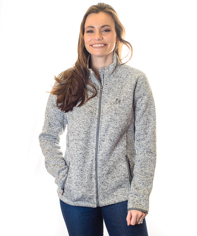 Women's American Saddlebred Museum Sweater-Fleece Jacket