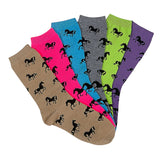 Horses All Over Socks