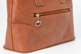 Snaffle Bit Handbag Brown
