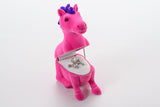 Horse Necklace in Pink Horse Box