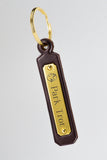 American Saddlebred Museum Leather Key Fob Park Trot