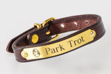 American Saddlebred Museum Leather Bracelet Park Trot