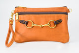 Fair Hill Wristlet Tan