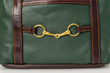 Devon Snaffle Bit Purse Medium Dark Green