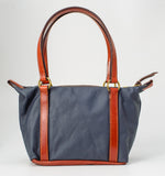 Devon Snaffle Bit Purse Small Navy