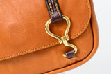 Hoof Pick Cross Body Purse Small Tan