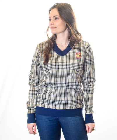 Baker Plaid Sweater