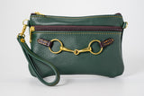 Fair Hill Snaffle Bit Wristlet Dark Green