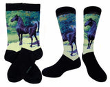 American Saddlebred Museum Horse Art Socks