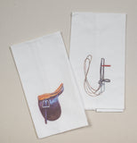 Saddle Seat Saddle and Bridle for Saddlebred Horse Hand Towels