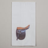 Saddle Seat Saddle for Saddlebred Horse Hand Towel