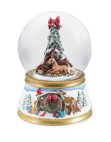 2018 Breyer Gift of Love: Musical Snow Globe