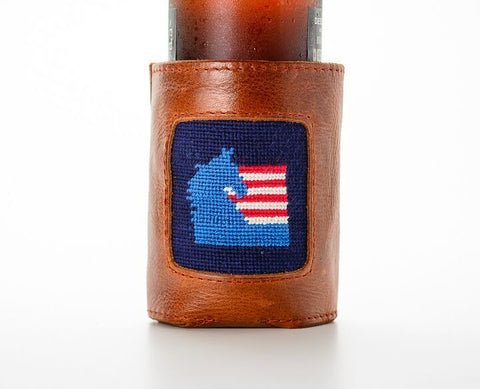 ASHA Leather Koozie