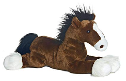Plush Horse Captain