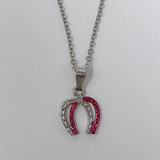 Double  Horseshoe Necklace
