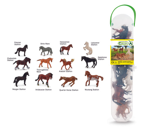 Collecta Box of Mini Horses
