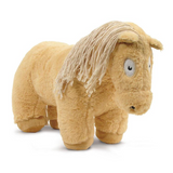 Crafty Pony Horse Stuffed Animal Tan with Tan Mane, Tail, and Hooves