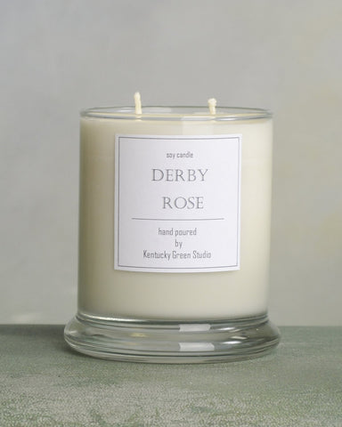 Derby Rose Candle