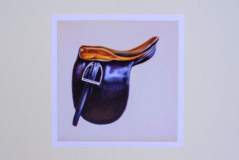 Janet Crawford Saddle Seat Print