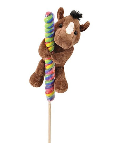 Horse Hitcher with Lollipop