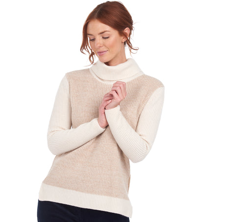 Rolled Collar Sweater