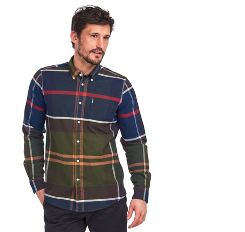 Barbour Tartan 7TF Button-Up Shirt