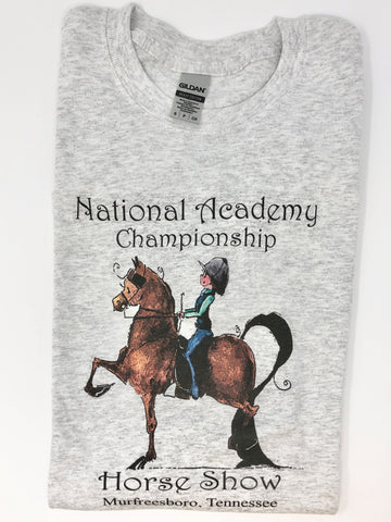National Academy Championship Horse Show Adult T-Shirt