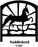 American Saddlebred Horse Bench