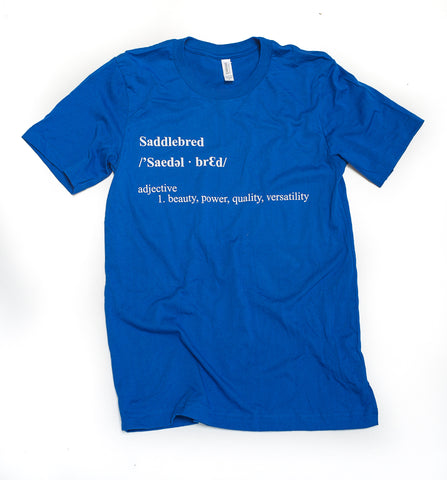 American Saddlebred Definition T-Shirt