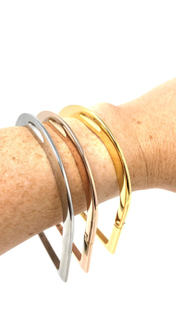 Stirrup Bangle Bracelet