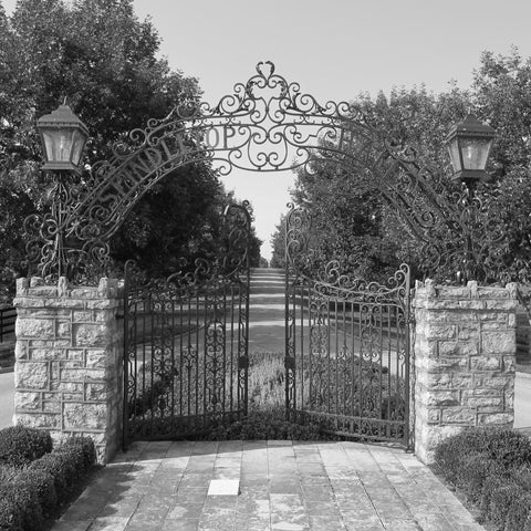 Spindletop Hall Gates