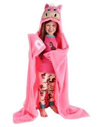 Pink Horse Hooded Blanket