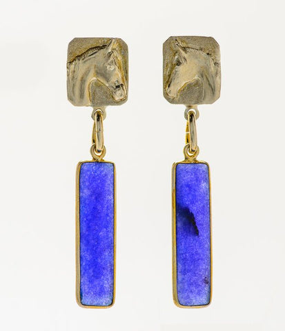 Rex McDonald Small Stone Earrings