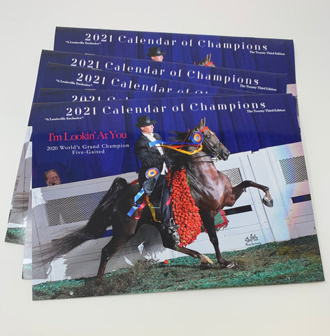 2021 Calendar of Champions by Doug Shiflet