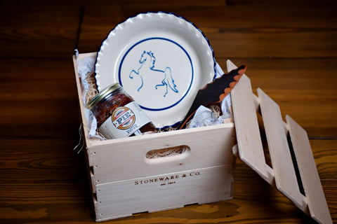 American Saddlebred Museum Pie Plate Gift Crate