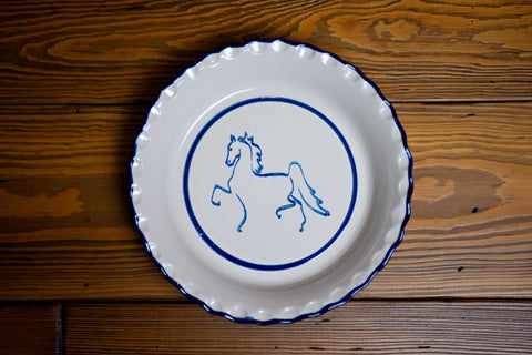 American Saddlebred Museum Pie Plate