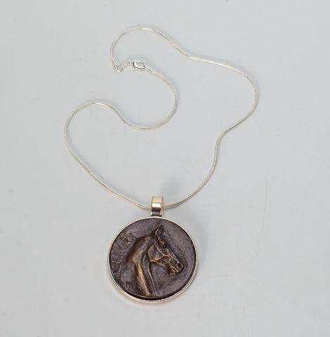 Bronze Pendant Necklace and/or Key Chain