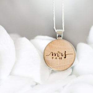 Mrs | Personalized with date