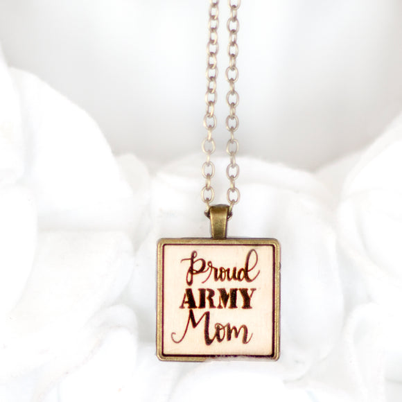 Military Members Keepsake Necklace